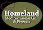 Homeland Mediterranean Grill & Pizzeria logo