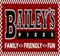 Bailey's Pizza logo