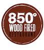 850 Degrees Wood Fired Restaurant logo