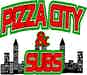 Pizza City & Subs logo