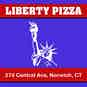 Liberty M&M Pizza logo