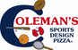 Coleman's Sports Design Pizza logo