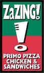 Zazing Primo Pizza Chicken logo