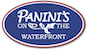 Panini's On The Waterfront logo