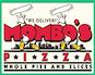 Mombos Pizza logo