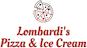 Lombardi's Pizza & Ice Cream logo