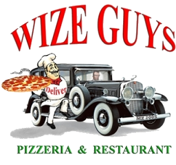 Wize Guys Pizza logo