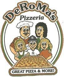 DeRoma's Pizza logo