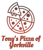 Tony's Pizza of Yorkville logo