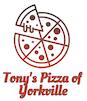 Tony's Pizza of Yorkville logo