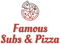 Famous Subs & Pizza logo