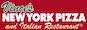 Vince's New York Pizza logo