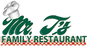 Mr T's Family Restaurant logo
