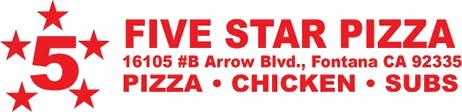 5 Star Pizza & Chicken