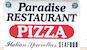 Paradise Pizza & Grill logo
