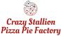 Crazy Stallion Pizza Pie Factory logo
