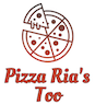 Pizza Ria's Too logo