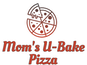 Mom's U-Bake Pizza logo