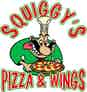Squiggy's Pizza Wings & Things logo