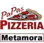 Papas Pizzeria logo