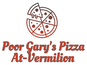 Poor Gary's Pizza At-Vermilion logo