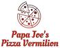 Papa Joe's Pizza Vermilion logo