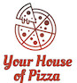Your House of Pizza logo