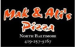 Mak & Ali's Pizza