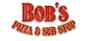 Bob's Pizza & Sub Stop logo