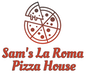 Sam's La Roma Pizza House logo