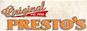 Original Presto's Pizza logo