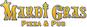 Mardi Gras Pizza Pub logo