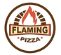Flaming Pizza logo