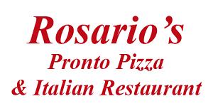 Rosario's Pronto Pizza & Italian Restaurant