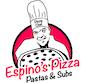 Espino's Pizza logo