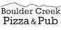 Boulder Creek Pizza & Pub logo