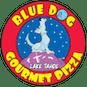 Blue Dog Gourmet Pizza logo