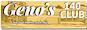 Geno's 140 logo