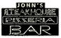 John's Steak House & Pizzeria logo