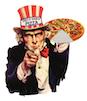 Uncle Sam's Pizza logo