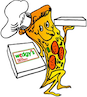 Wedgy's Pizza Delivery logo