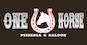 One Horse Pizzeria & Saloon logo