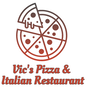 Vic's Pizza & Italian Restaurant logo