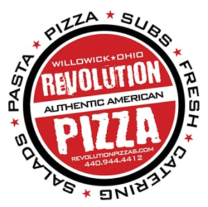 Revolution Pizza logo