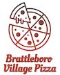 Brattleboro Village Pizza logo