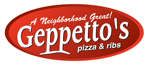 Geppetto's Pizza & Ribs logo