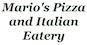 Mario's Pizza & Italian Eatery logo