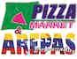 Pizza Market & Arepas logo