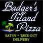 Badger's Island Pizza logo