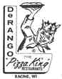 DeRango's The Pizza King & Steakhouse logo